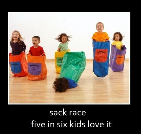 Sack Face Race