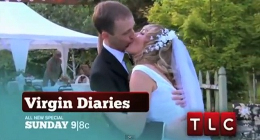 Creepy Kissing on TLC Virgin Diaries