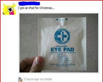 Eye Pad for Christmas