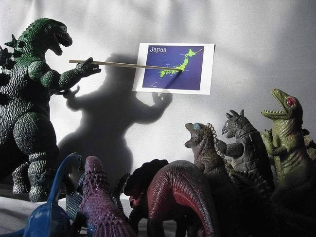 Godzilla Plan to Attack Japan