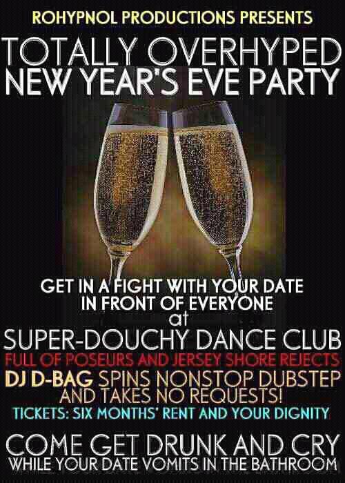 New Years Eve 2012 Club Invite
