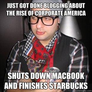 Hipster in Corporate America