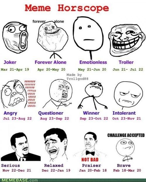 Internet Memes Horoscope