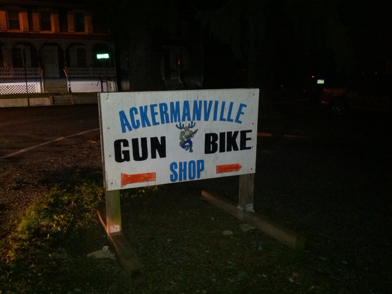 Ackermanville Gun and Bike Shop