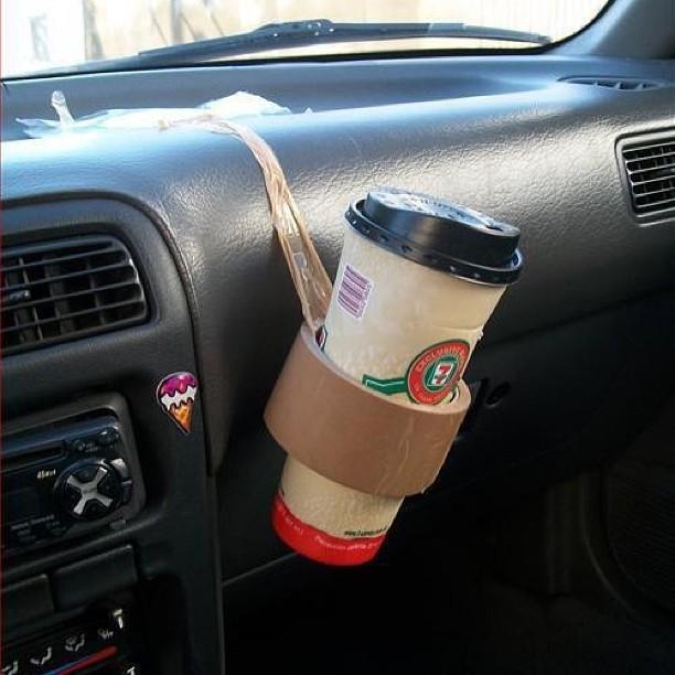 Держатель для стаканов в авто своими руками 76
