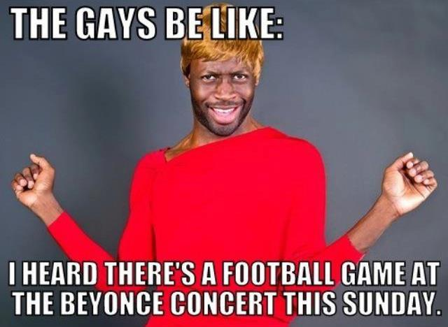 Beyonce's Gay Superbowl Concert