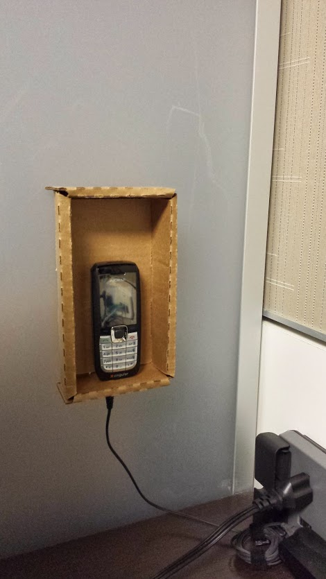 ghetto phone booth