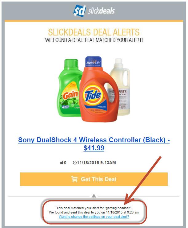 slickdeals alert controller detergent