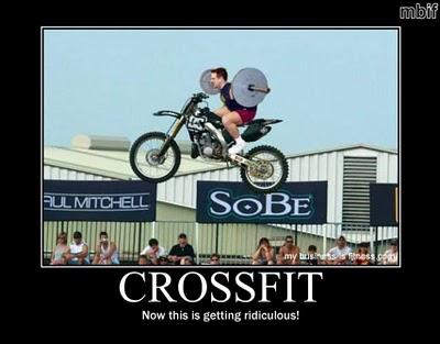 Crossfit motorcycle