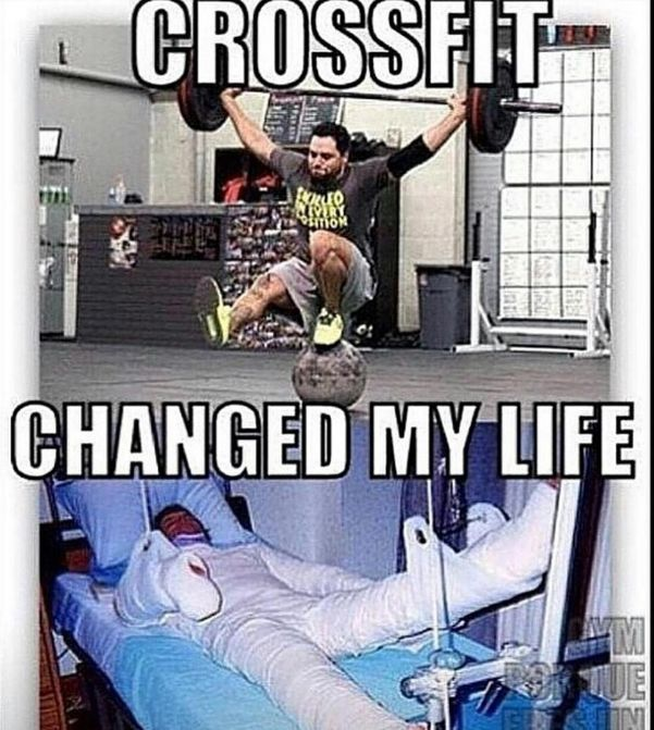 crossfit hospital bed