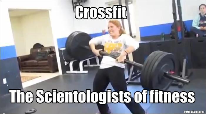 crossfit scientology
