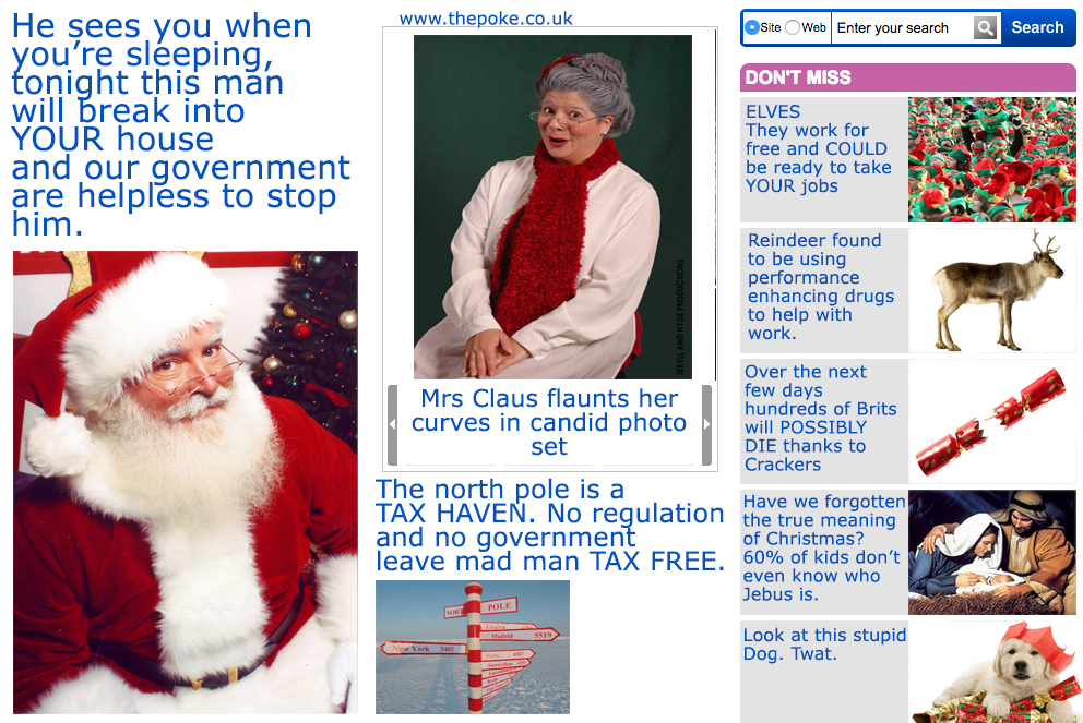 daily mail santa news