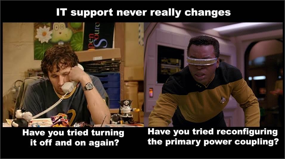 it support geordie star trek tech support
