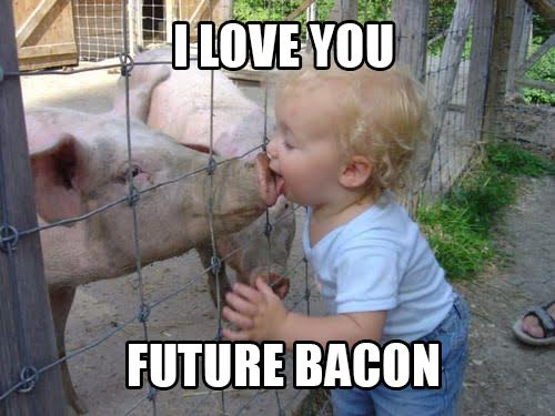love future bacon