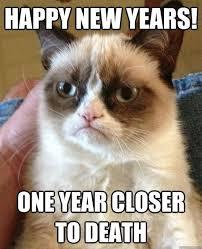 new years grumpy cat