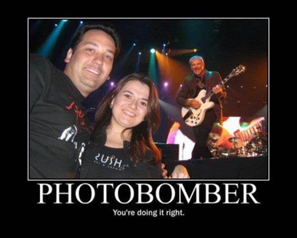 photo bomb rush concert