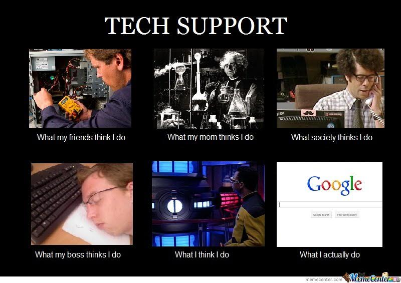 tech support I do