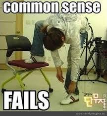 common sense shoe fail