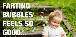 farting bubbles