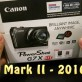 Canon G7X Unboxing & Mark II 2016