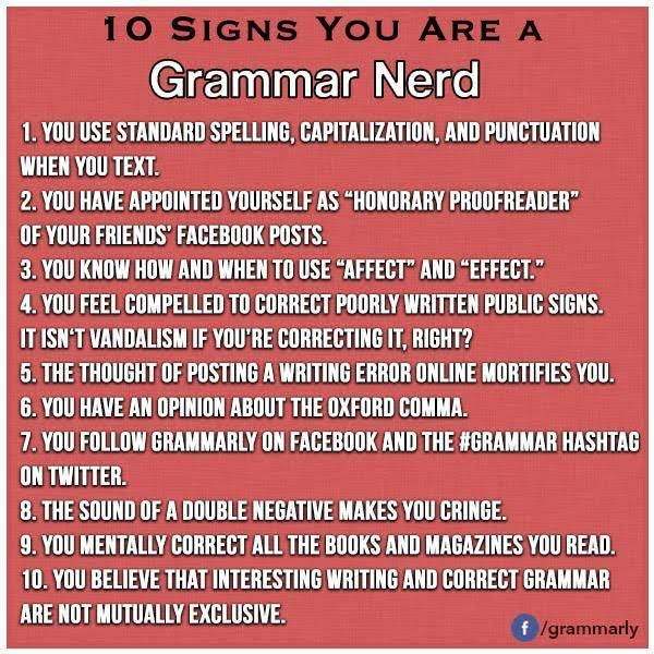grammar nerd list top 10