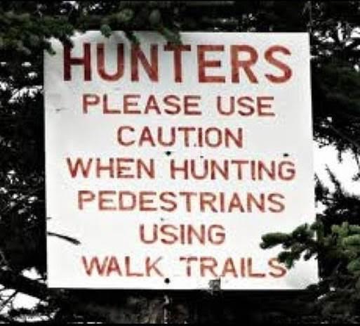 hunting pedestrians