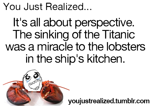 lobster titanic