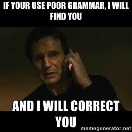 taken grammar liam neeson