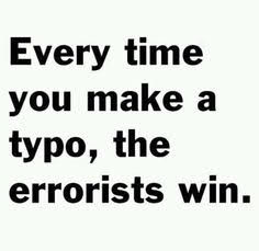 type errorist