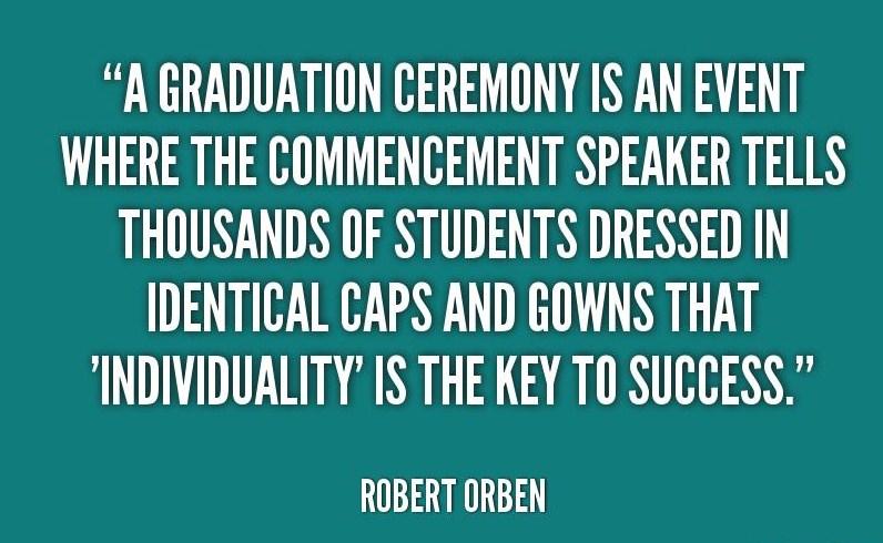 graduation individuality