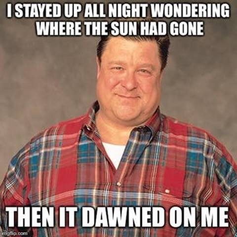 sun dawn - dad joke