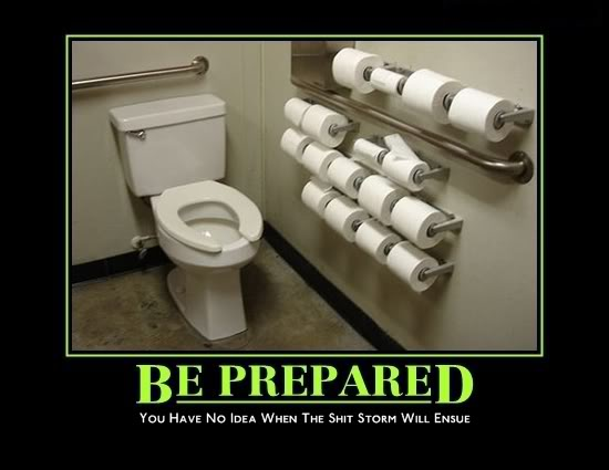 Be Prepared - Shit Storm